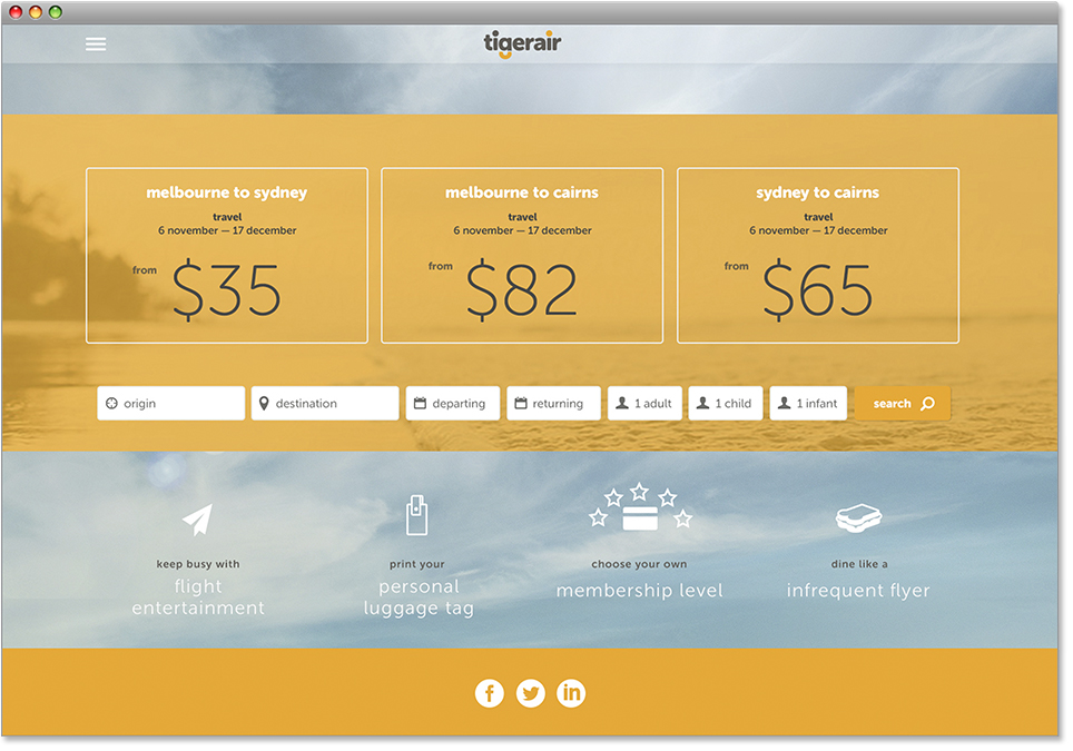 Patrick-Baron-Tigerair-Infrequent Flyer Club-Deals